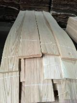 Sliced Veneer For Sale - Oak  Quartered, Plain Natural Veneer Turkey