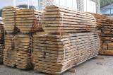 Lithuania Unedged Timber - Boules - Fresh Sawn European Oak Boules, 20-65 mm thick