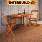 Garden Furniture - Small Space Solution Range - Slat Medium Solid Wood Garden Furniture