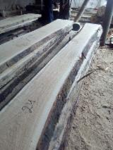 Hardwood  Unedged Timber - Flitches - Boules - Oak planks according to your size