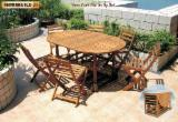 Négoce International De Meubles De Jardin - Vend Ensemble De Jardin Design Bois Massif - Feuillus Tempérés Acacia