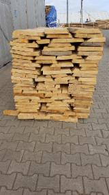 FSC Certified Unedged Timber - Boules - Beech Loose Planks, KD, 26,32,38,40,50 mm thick