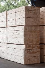 Pine rough timber KD