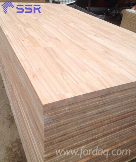 Sapelli sapele finger joined laminated board from vietnam