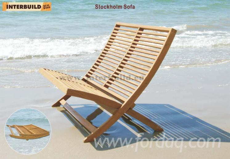 Stockholm sofa 120 cm hot sale solid wood outdoor for Sofa exterior 120 cm