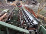 Used Rundholzplatz 2000 Sawmill For Sale Italy