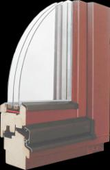 Wood Doors, Windows And Stairs - Wooden windows - 90 mm profile