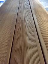 Germany Exterior Decking - Siberian Larch Anti-Slip Decking, 27 mm thick