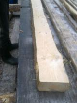 Unedged Softwood Timber - Pine  - Redwood Loose 100-150 mm from Ukraine