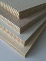 Wood grain paper laminated furniture plywood