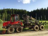 Forest & Harvesting Equipment - Used Komatsu 835 Forwarder Romania