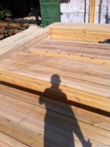 Thermo Treated 90, 40, 22 mm Fresh Sawn Pine  - Scots Pine Planks (boards) from Ukraine, Житомир