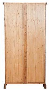 Bibliotecă - Mobila lemn masiv - biblioteca cu 2 usi si 3 polite