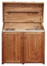 Chiuvete Şi Baterii De Bucătărie - Mobila lemn masiv - bucatarie