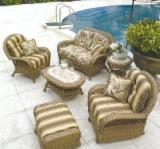 Sofas Living Room Furniture - Rattan wicker sofa set