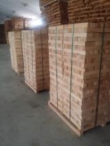 Hardwood Lumber And Sawn Timber - Beech Squares, 25; 32; 38; 43; 50; 60 mm thick