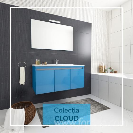 Wholesale Contemporary MDF panel Bathroom Sets Romania