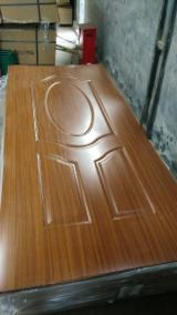 Wood Components, Mouldings, Doors & Windows, Houses - Melamine MDF/HDF moulded door skin