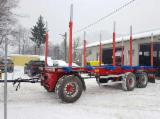 Oprema Za Šumu I Žetvu Prikolica S Pokretnim Podom - Prikolica S Pokretnim Podom Dool Polovna 2007 Rumunija