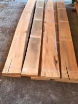 Hardwood  Unedged Timber - Flitches - Boules For Sale - BEECH LUMBER - LIGHTLY STEAMED - AD - UNEGED