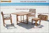 Négoce International De Meubles De Jardin - Vend Tables De Jardin Design Bois Massif - Feuillus Tempérés Acacia