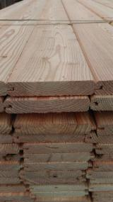Larch  Sawn Timber - 40-300 mm Fresh Sawn Larch  Planks (boards)  from Germany, Bayern