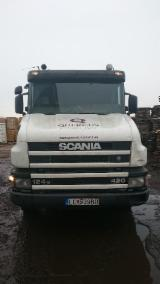 Forest & Harvesting Equipment - Used Scania T 124 420