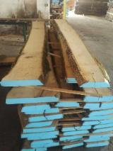 Hardwood  Unedged Timber - Flitches - Boules - Ash, unedged boards, 65 mm KD 18-22%