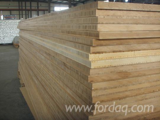 3 lagig massief houten paneel bamboe