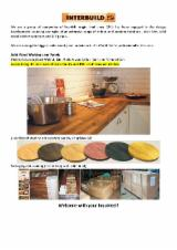 FSC Solid Wood Kitchen Worktops,Table Tops and Countertops