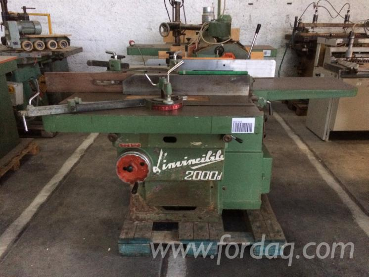 Combined For Woodworking Brand Scm Model Invincible 2000d