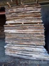 Laubholz  Blockware, Unbesäumtes Holz - Loseware, Kirsche