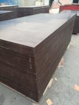 Wholesale  Film Faced Plywood Brown Film - 18mm Marine Film Faced Plywood from Huabao