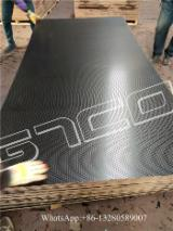 Plywood For Sale - Anti Slip Black Film Faced Flooring Plywood, 10-28 mm thick