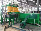 Pellet Manufacturing Plant - 0.1-1 Ton/H Mobile Small Complete Biomass Pelleting Plant