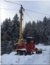 Forest & Harvesting Equipment - Used Koller K 501 2002 Mobile Cable Crane Italy