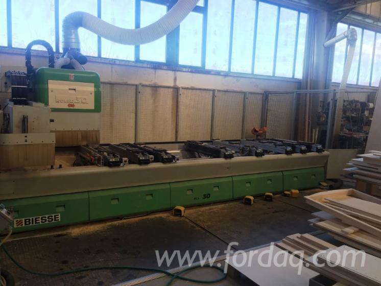 CNC-machining-center-Used-Biesse-Rover