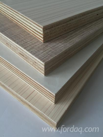 Paper Faced Plywood ~ Melamine paper faced plywood