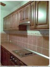 Romania Kitchen Furniture - Contemporary Cherry (European Wild) Kitchen Cabinets Romania