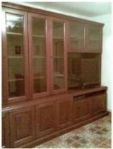 Romania Dining Room Furniture - Contemporary Meranti, light red Display Cabinets Romania