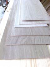 Oak  Sliced Veneer - English oak veneer flat cut Russia