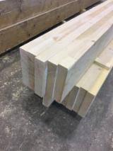Softwood  Glulam - Finger Jointed Studs For Sale - Spruce beams CL24, KD 12%