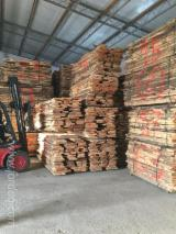 Hardwood  Unedged Timber - Flitches - Boules For Sale - Boules Romania