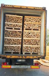FSC Certified Firewood, Pellets And Residues - Dry firewood and kindling wood In box or net bags