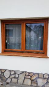 Двері, Вікна, Сходи Ялина Picea Abies - Біла - Європейська Хвойна Деревина, Вікна, Деревина Масив, Ялина  - Біла, Фарба