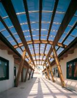 Casas De Madera-estructura De Madera Precortada En Venta - Marcos De Madera Precortada Abeto  - Madera Blanca Madera Blanda Europea Italia