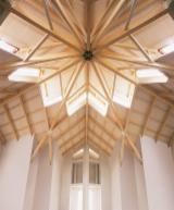 Struttura Tetto In Legno Pretagliato - Grandi strutture in legno