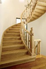 Beech  Finished Products - Spiral Stairs for sale