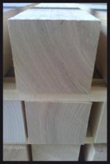 Hardwood  Sawn Timber - Lumber - Planed Timber For Sale - Brown Ash / White Ash Squares 80 mm