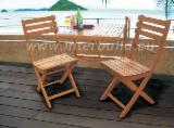 FSC Garden Furniture for sale. Wholesale exporters - Stockholm Balcony Table Convenient Solid Wood Outdoor Table